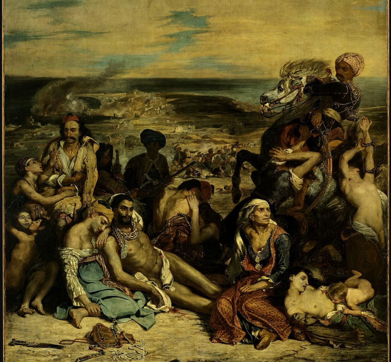 Grece Hebdo Eugene Delacroix Et La Grece Visite A L Exposition Au Musee Du Louvre