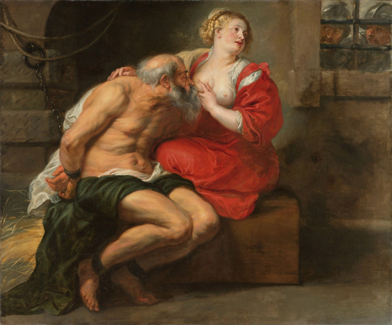 Cimon and Pero Roman Charity Peter Paoul Rubens 1630