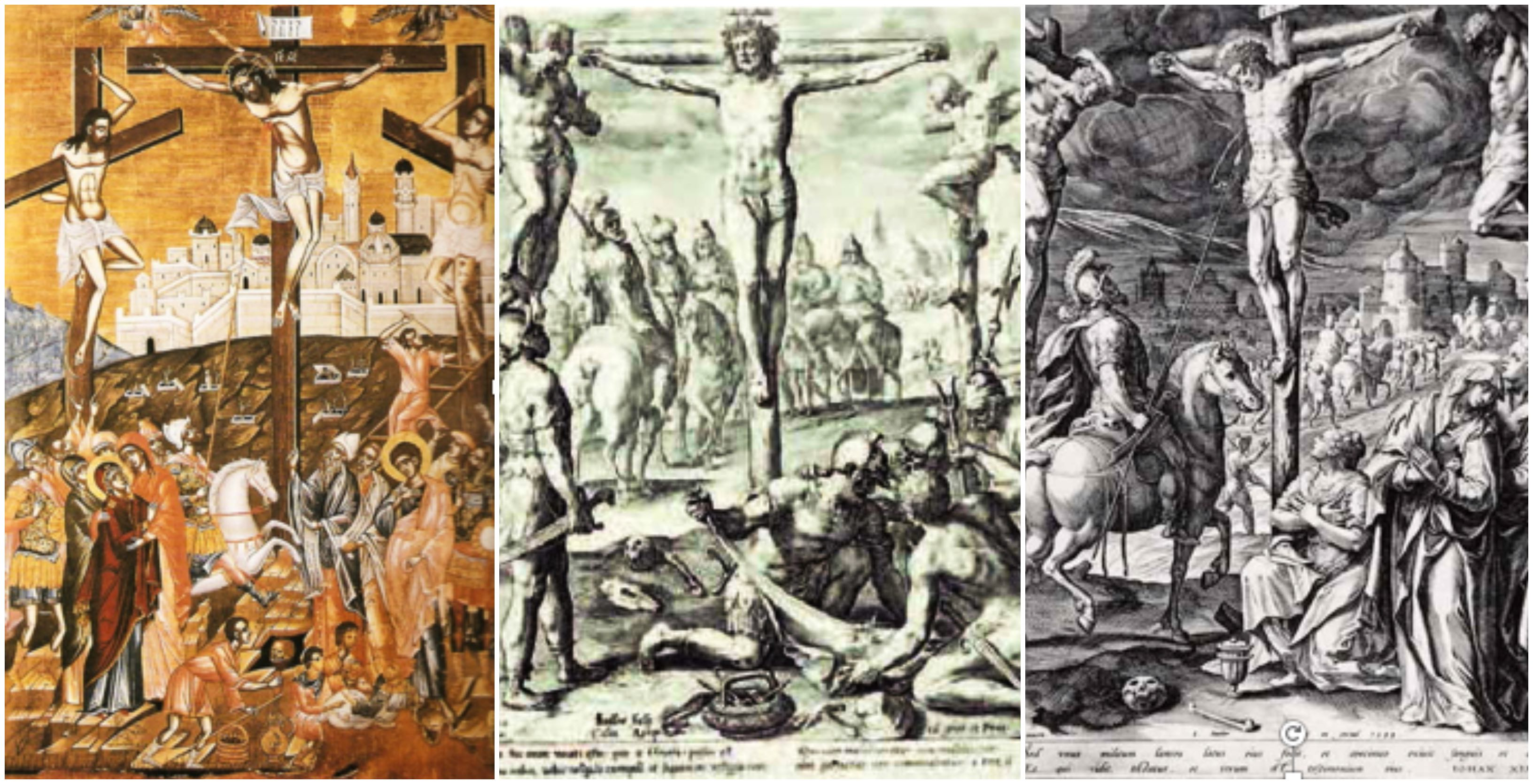 Collage 1 crucifixion