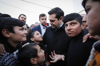 tsipras refugees