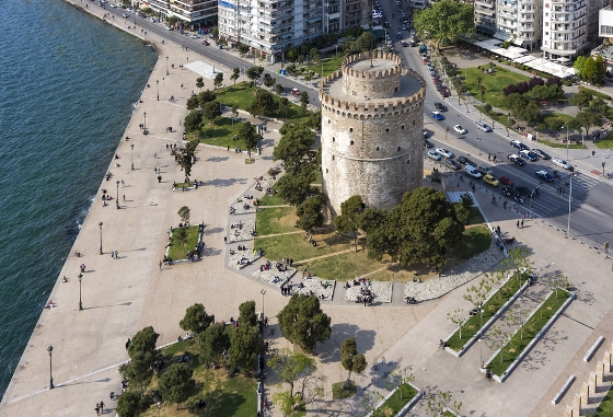 Thessaloniki white tower 560X381