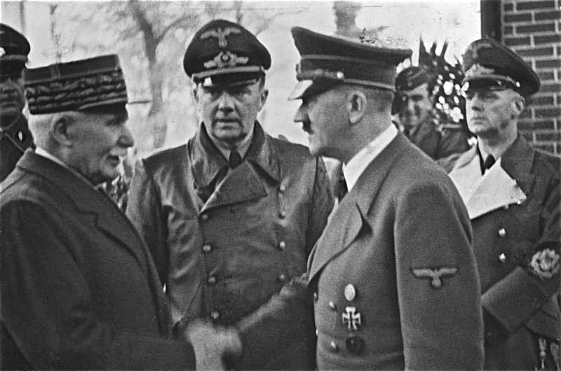 Bundesarchiv Bild 183 H25217 Henry Philippe Petain und Adolf Hitler